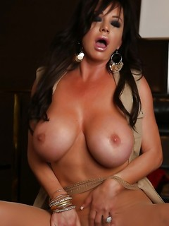Sexy Striptease And Fun Pantyhose Play With Rachel Aziani