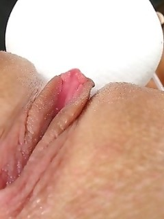 Kiera King Toying Her Juicy Pussy With Vibrator