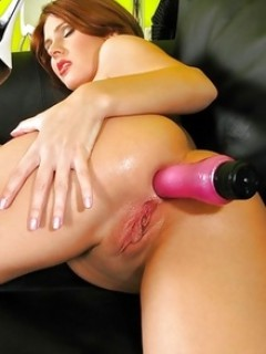 Zuzana Z Horny Babe Enjoy With Vibrator In Her Ass