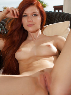 Sexy Redhead Babe Taccea