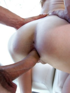 Cute Spinner With Tight Tiny Body Rides A Huge Cock